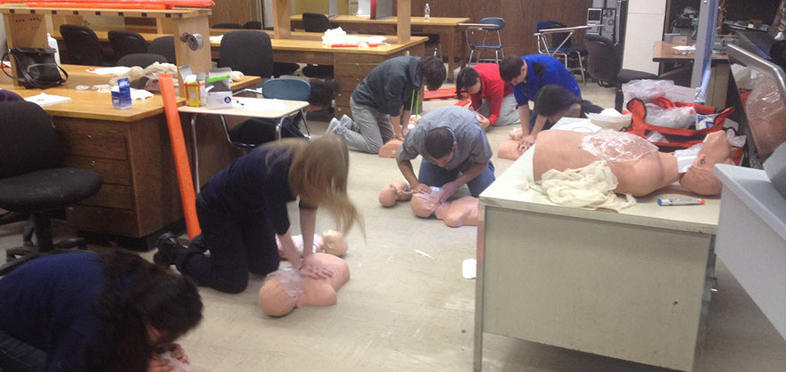 Lifeguard, First Aid, CPR/AED classed in New York