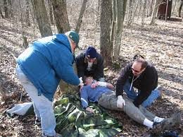 Red Cross Wilderness first aid class