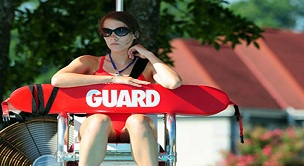 In person lifeguard management exam