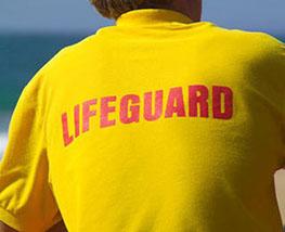 Red Cross lifeguard class