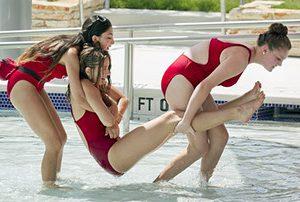 Shallow pool Lifeguarding class
